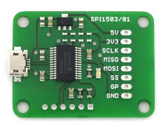 USB-to-SPI development platform